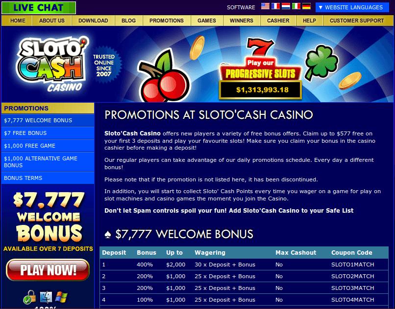 slot v бездепозитный бонус