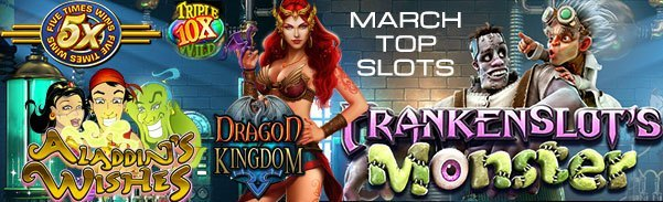 March 2017 Top Slots