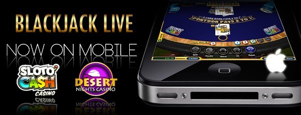 Blackjack live on mobile