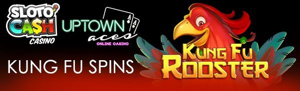 50 'Kung Fu' Free Spins