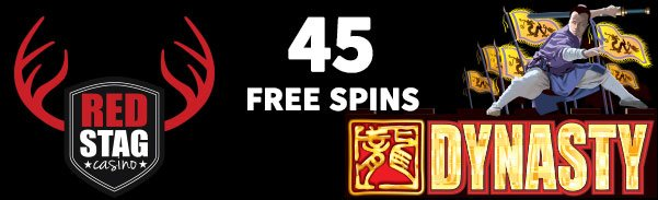 45 free spins on Dynasty
