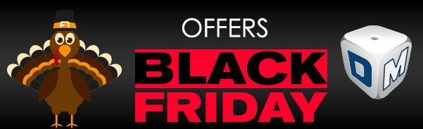 Black Friday and Thanksgiving Specials